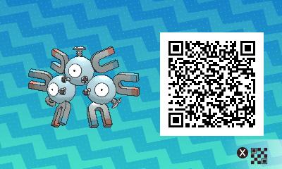 048 Pokemon Sun and Moon Magneton QR Code