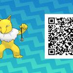 055 Pokemon Sun and Moon Female Hypno QR Code