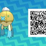 065 Pokemon Sun and Moon Shiny Drifblim QR Code