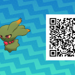 066 Pokemon Sun and Moon Shiny Misdreavus QR Code
