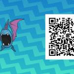 069 Pokemon Sun and Moon Male Golbat QR Code