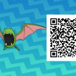 069 Pokemon Sun and Moon Shiny Male Golbat QR Code