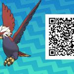 076 Pokemon Sun and Moon Braviary QR Code