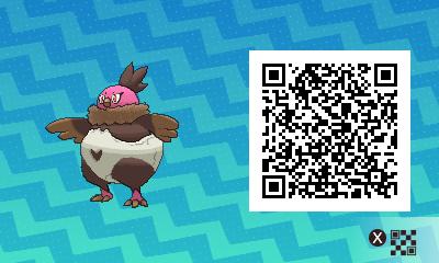 077 Pokemon Sun and Moon Shiny Vullavy QR Code