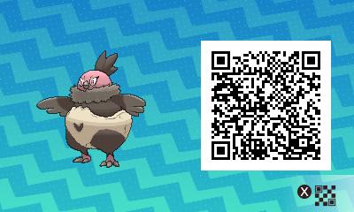 077 Pokemon Sun and Moon Vullaby QR Code