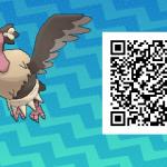078 Pokemon Sun and Moon Mandibuzz QR Code