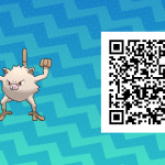 079 Pokemon Sun and Moon Mankey QR Code