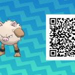 080 Pokemon Sun and Moon Primeape QR Code