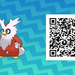 081 Pokemon Sun and Moon Delibird QR Code