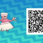 082 Pokemon Sun and Moon Pau Oricorio QR Code