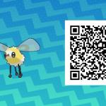 083 Pokemon Sun and Moon Cutiefly QR Code