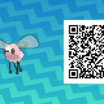 083 Pokemon Sun and Moon Shiny Cutiefly QR Code