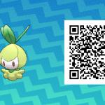 085 Pokemon Sun and Moon Petilil QR Code