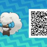 088 Pokemon Sun and Moon Shiny Whimsicott QR Code