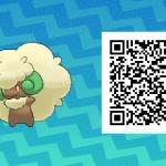 088 Pokemon Sun and Moon Whimsicott QR Code