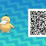 089 Pokemon Sun and Moon Psyduck QR Code