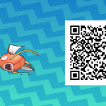 091 Pokemon Sun and Moon Male Magikarp QR Code