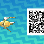 091 Pokemon Sun and Moon Shiny Male Magikarp QR Code