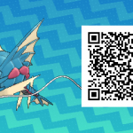 092 Pokemon Sun and Moon Mega Gyarados QR Code