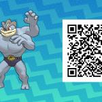 097 Pokemon Sun and Moon Machamp QR Code