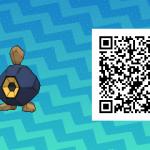 098 Pokemon Sun and Moon Roggenrola QR Code