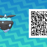 101 Pokemon Sun and Moon Shiny Carbink QR Code