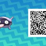 115 Pokemon Sun and Moon Shellder QR Code