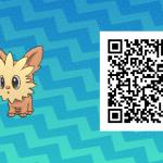 120 Pokemon Sun and Moon Lillipup QR Code