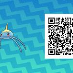 139 Pokemon Sun and Moon Surskit QR Code