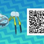 142 Pokemon Sun and Moon Araquanid QR Code