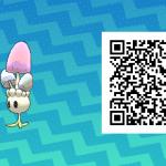 145 Pokemon Sun and Moon Morelull QR Code