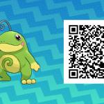 152 Pokemon Sun and Moon Politoed QR Code