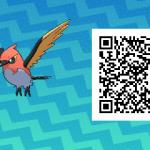 159 Pokemon Sun and Moon Fletchinder QR Code