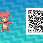 166 Pokemon Sun and Moon Magby QR Code