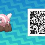 169 Pokemon Sun and Moon Stufful QR Code