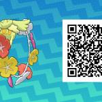 174 Pokemon Sun and Moon Comfey QR Code