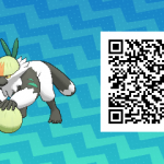 177 Pokemon Sun and Moon Passimian QR Code