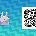 178 Pokemon Sun and Moon Goomy QR Code