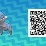 188 Pokemon Sun and Moon Cranidos QR Code