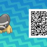190 Pokemon Sun and Moon Shieldon QR Code
