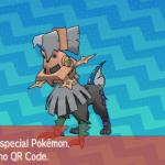 203 Pokemon Sun and Moon Type Null QR Code