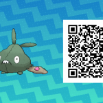 206 Pokemon Sun and Moon Trubbish QR Code