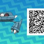 215 Pokemon Sun and Moon Metang QR Code