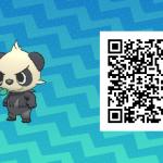220 Pokemon Sun and Moon Pancham QR Code