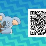 222 Pokemon Sun and Moon Komala QR Code