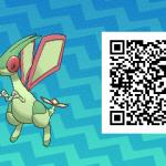 237 Pokemon Sun and Moon Flygon QR Code