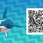 265 Pokemon Sun and Moon Sharpedo QR Code