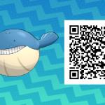 266 Pokemon Sun and Moon Wailmer QR Code