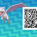 284 Pokemon Sun and Moon Aerodactyl QR Code