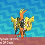 285 Pokemon Sun and Moon Tapu Koko QR Code